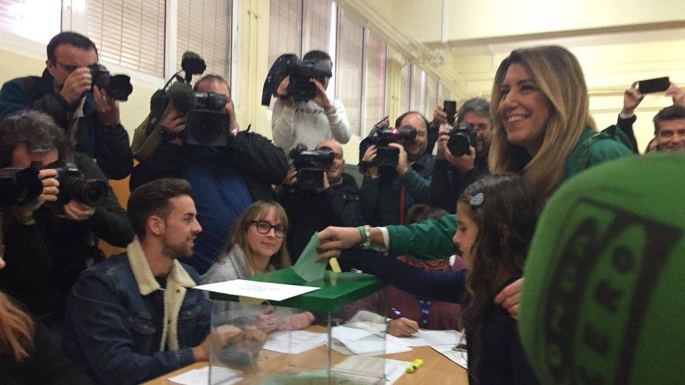 Las mejores fotos de la jornada electoral en Andalucía