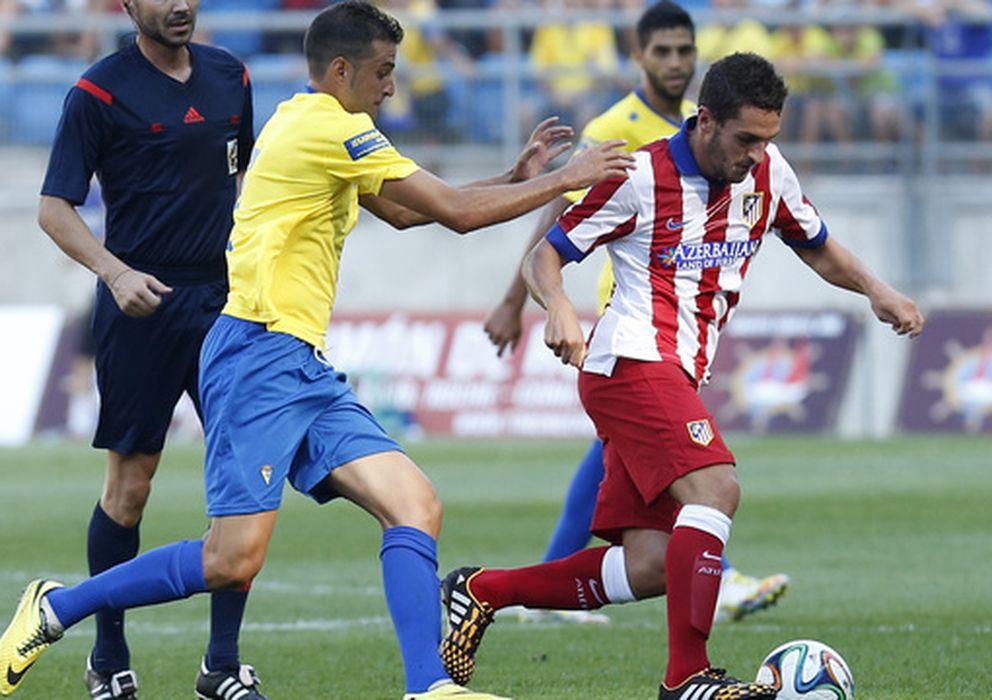 Foto: El Atlético jugará la final del Trofeo Carranza (clubatleticodemadrid.com).