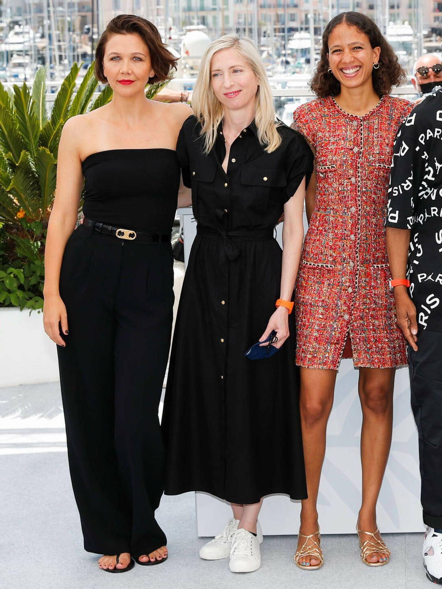 Maggie Gyllenhaal, en Cannes. (Reuters)