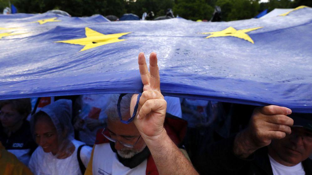 Foto: Elecciones al Parlamento Europeo en Rumanía (Reuters)