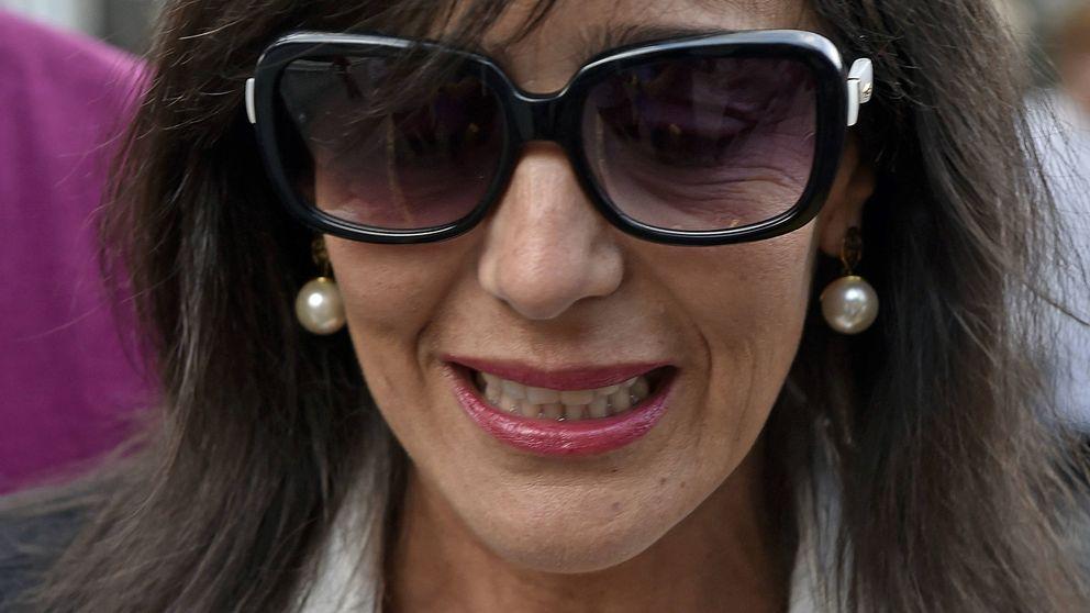 El desconsolado llanto de la 'viuda' de Palomo Linares, Concha Azuara, tras su muerte