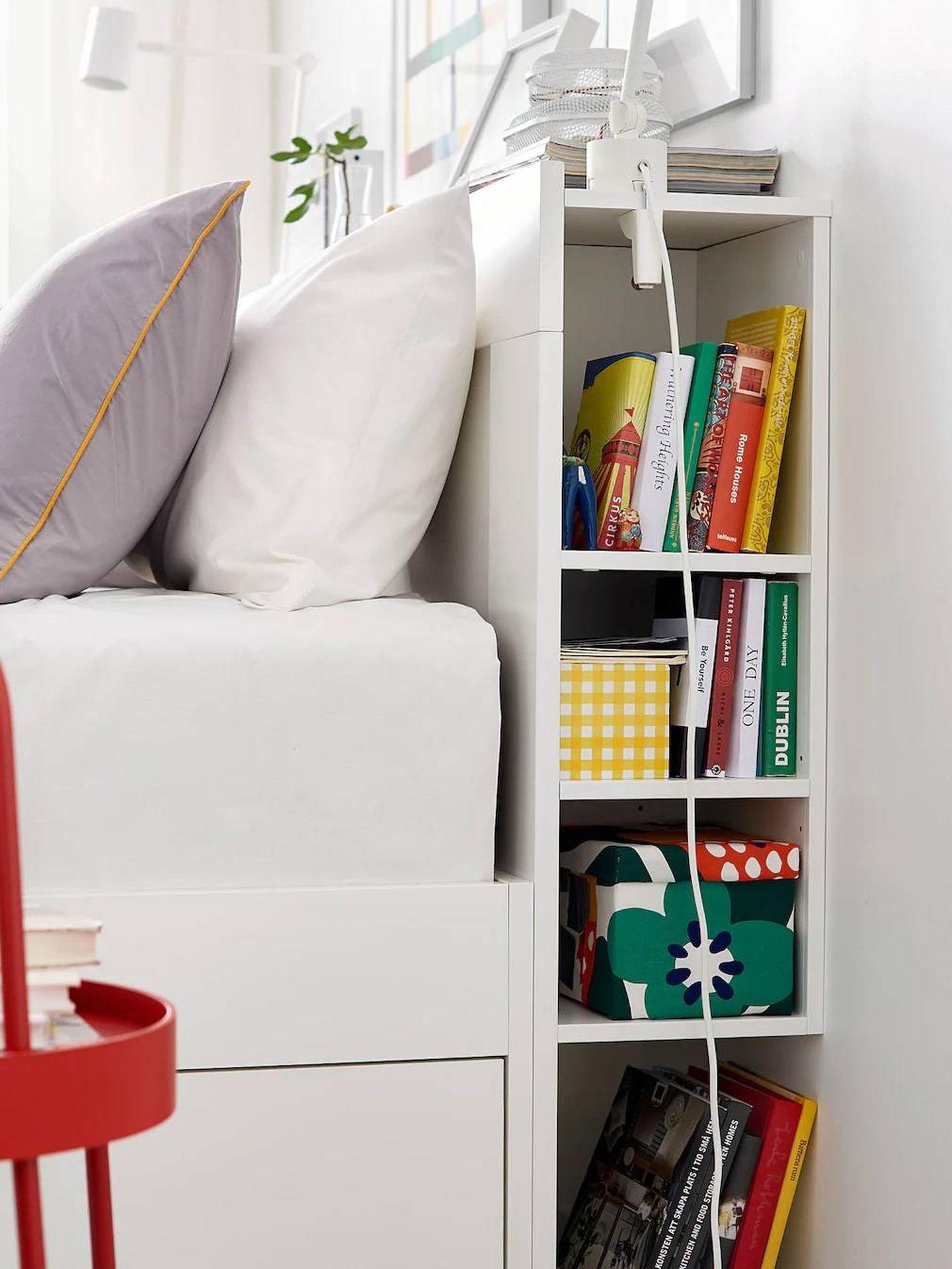 Cabecero de Ikea. (Cortesía)