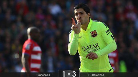 El Barcelona evita la tentación de echarse la siesta en Granada