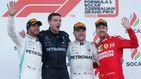 Resultado de F1: La exhibición de Mercedes con el suspiro, por fin, de Carlos Sainz