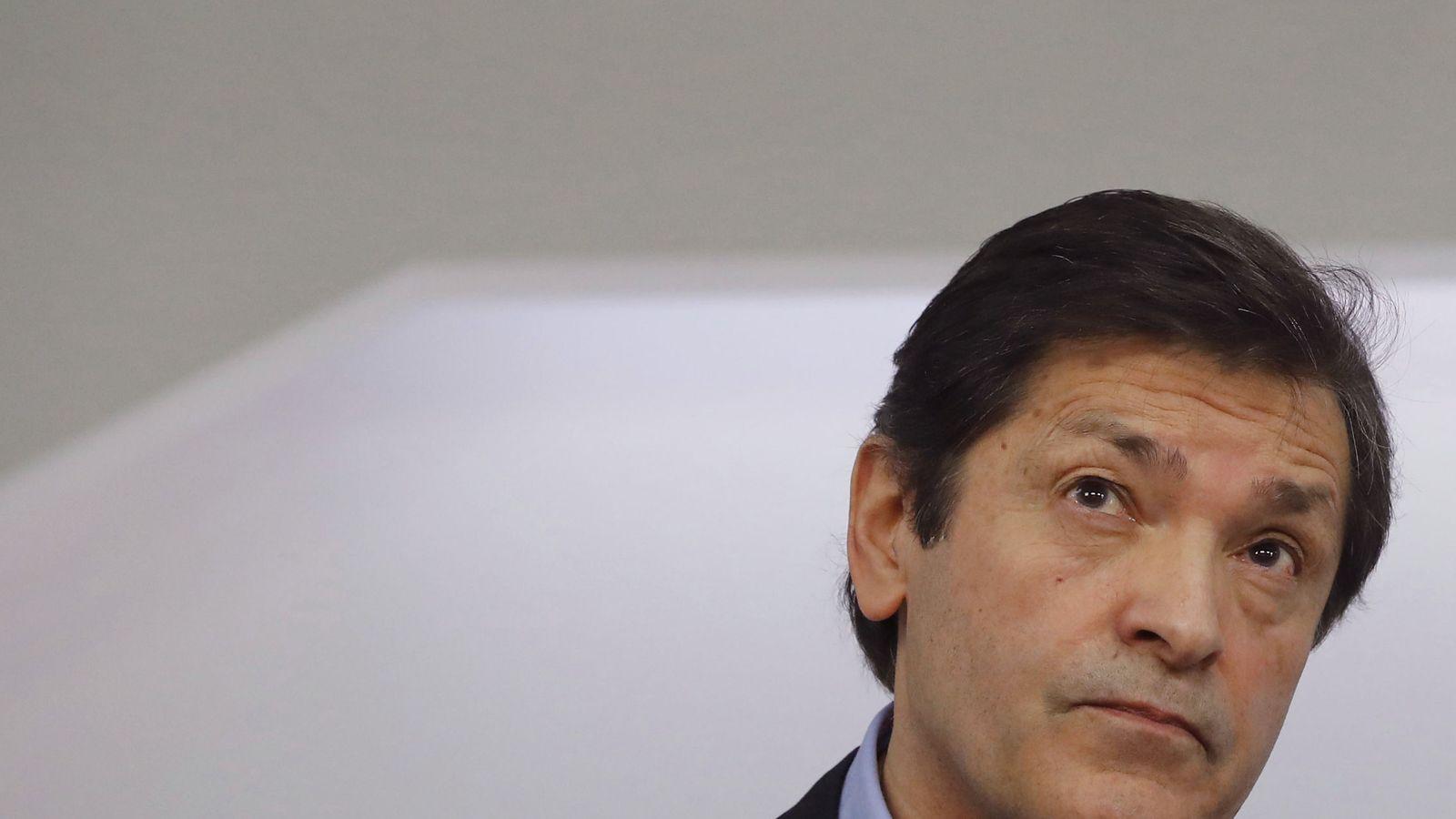 Foto: El presidente de la comisión gestora del PSOE, Javier Fernández, el pasado 20 de febrero. (EFE)