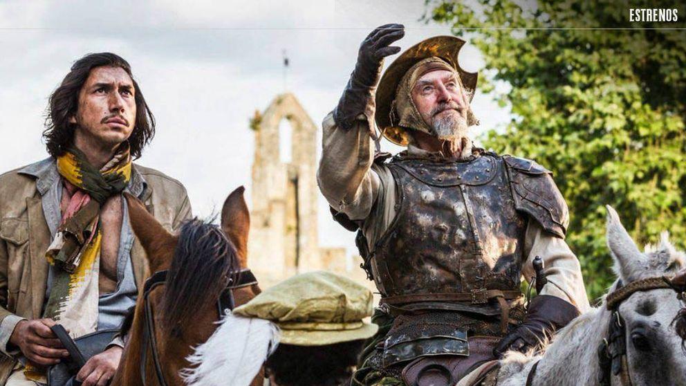 'El hombre que mató a Don Quijote': un Gilliam desatado a las puertas de la locura