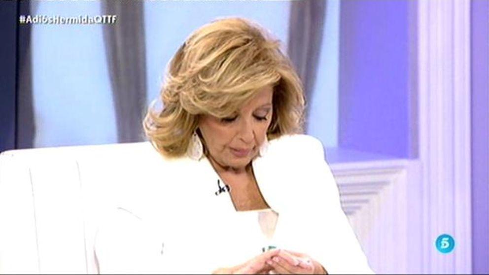 María Teresa Campos se emociona al recordar a Jesús Hermida