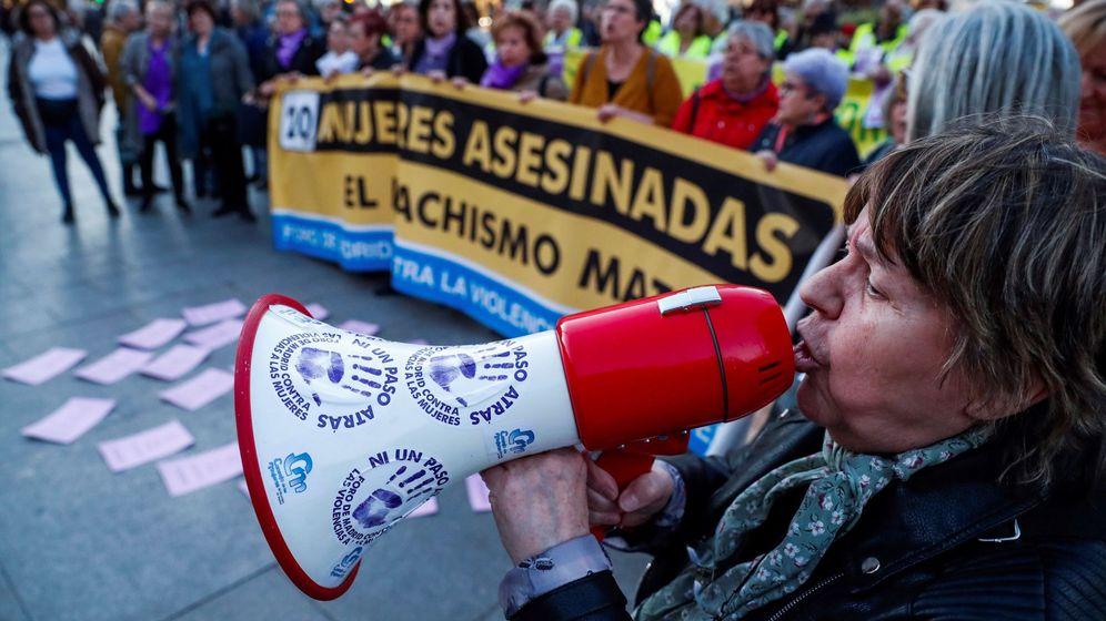 Foto: Concentración contra la violencia de género y los asesinatos machistas en Madrid. (EFE)
