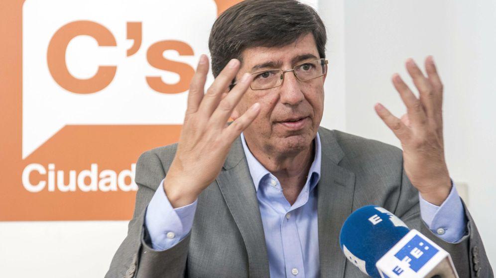 Foto: El portavoz parlamentario de Ciudadanos, Juan Marín. (EFE)