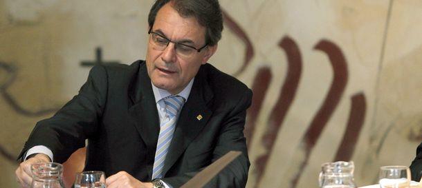 Foto: El presidente de la Generalitat, en una reunión del Govern. (Efe)