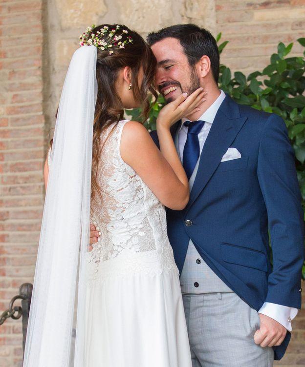 Foto: La pareja en una imagen de su boda. (EFE)