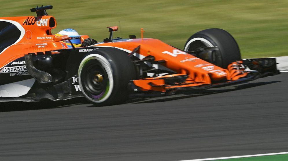 Foto: Fernando Alonso, durante el GP de Hungría. (EFE)