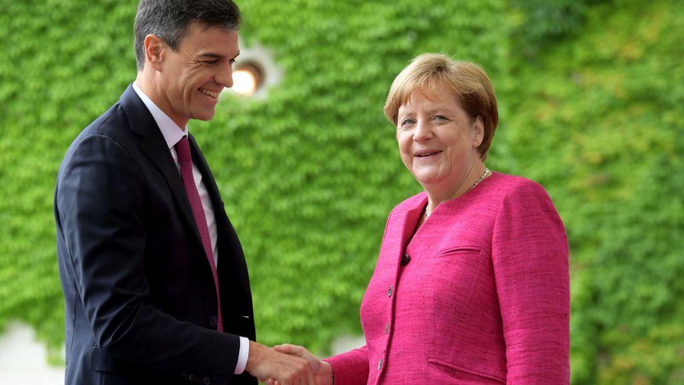 Sánchez planea un fin de semana de gestos para cautivar a Merkel