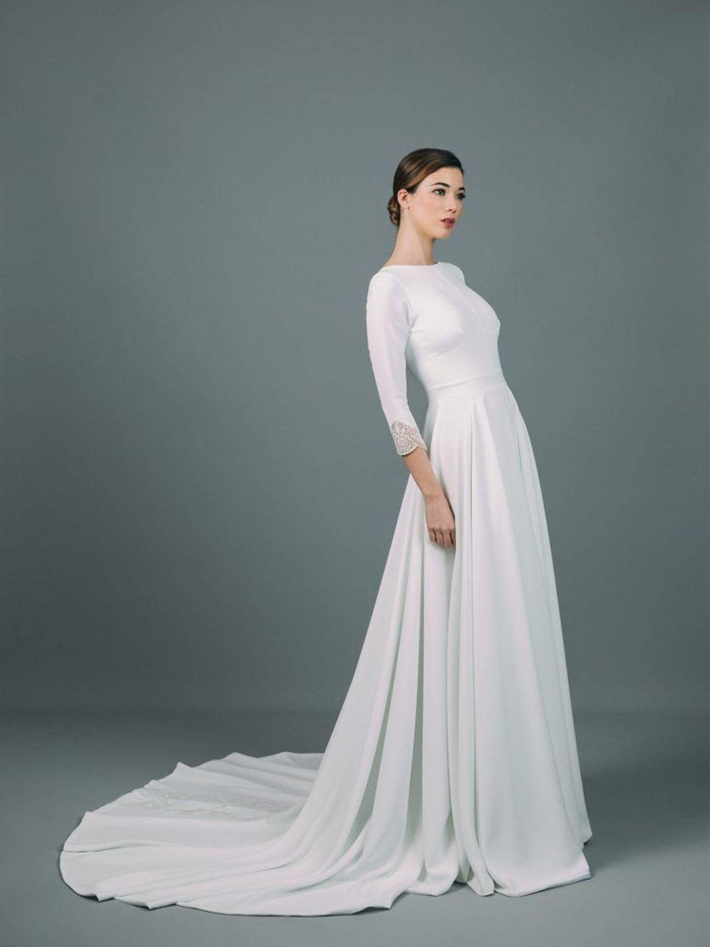 Vestido de Rocío Osorno. (Cortesía)