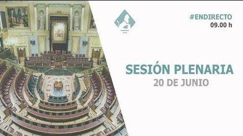 Siga en directo la primera sesión de control de Pedro Sánchez
