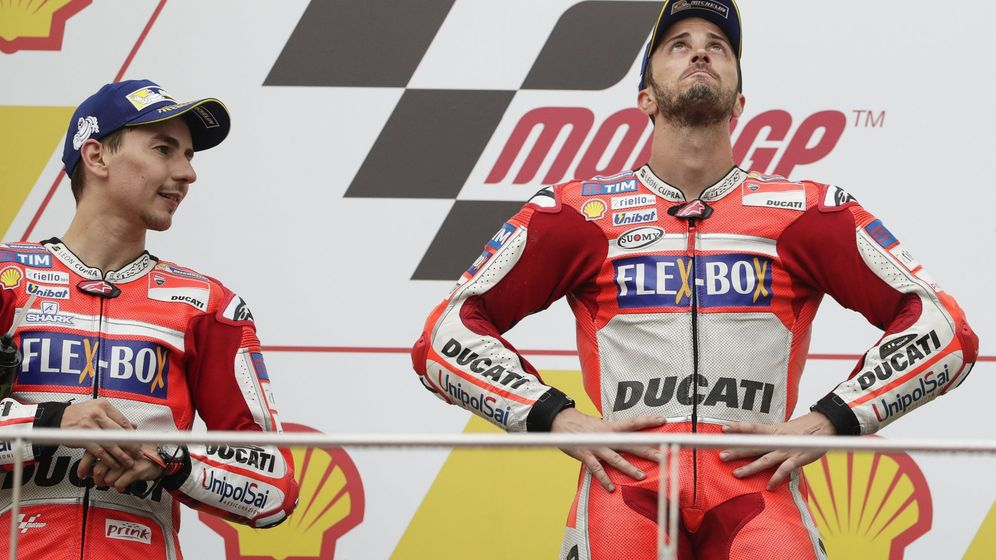 Foto: Andrea Dovizioso ha ganado seis carreras esta temporada. el triple que en los nueve años anteriores. (EFE)