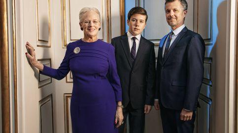 Los secretos de la histórica foto de la reina Margarita con Federico y Christian