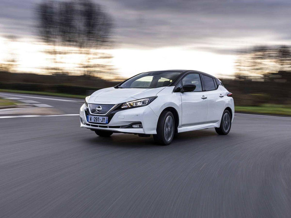 Foto: Esta es la serie especial LEAF10 del coche eléctrico de Nissan para celebrar 10 años de su lanzamiento.