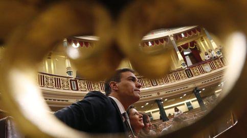 Moción de censura | Sánchez recupera su antiguo escaño en el Congreso