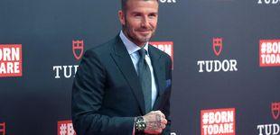 Post de Sir David Beckham renueva sus votos con Madrid en su último acto publicitario