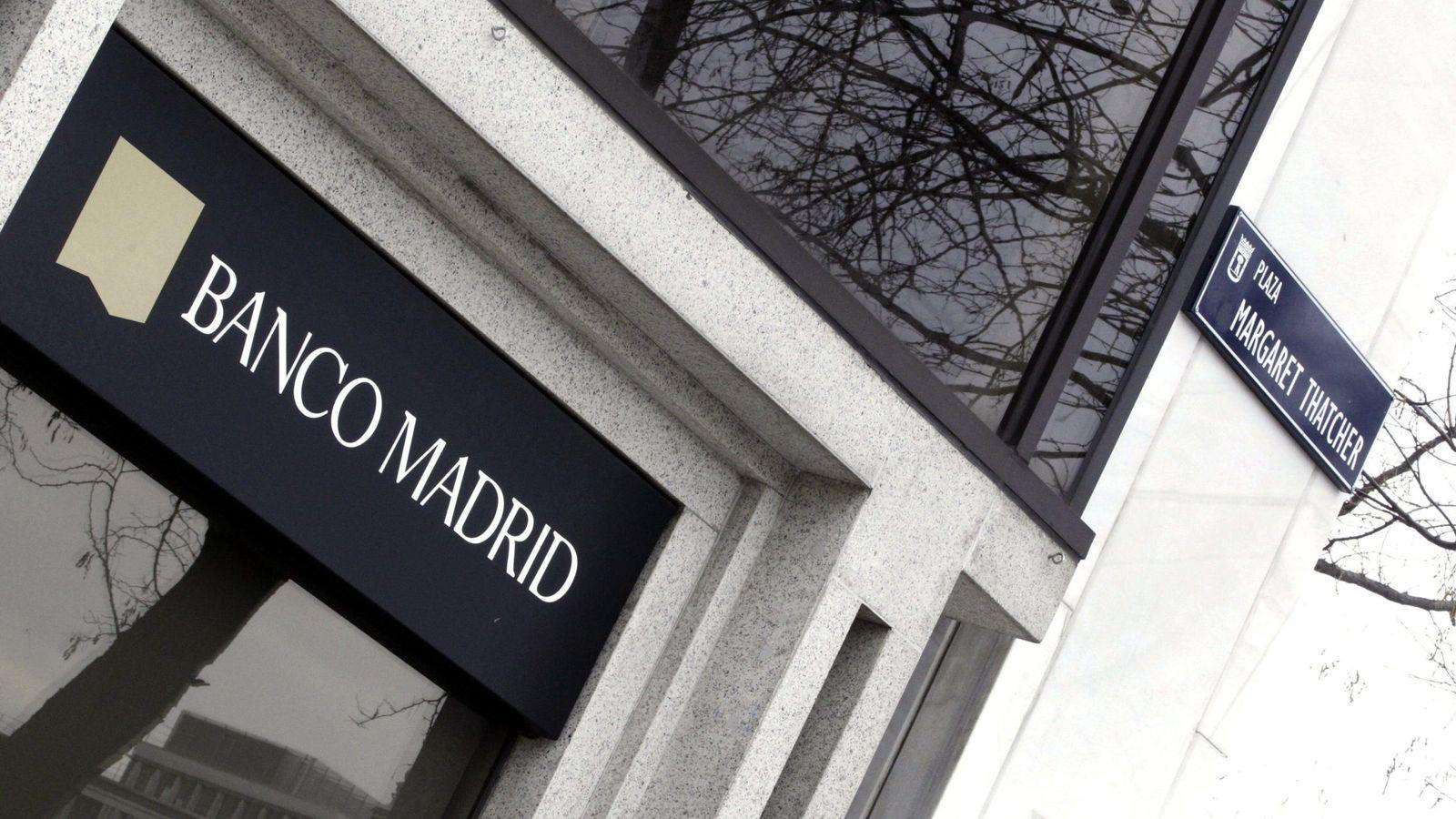 Foto: Una sucursal de Banco Madrid. (EFE)