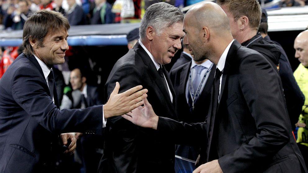 Conte pide a Morata y Zidane reclama a Hazard