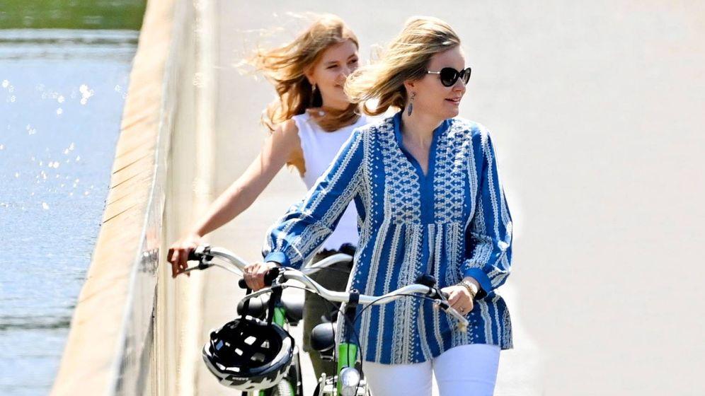 Foto: Matilde y Elisabeth de Bélgica. (Reuters)