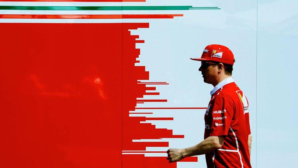 ¡Mirad a Raikkonen, sin una gota de sudor!. Decepción con el nuevo Ferrari