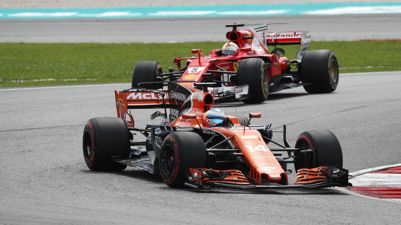 El inútil desahogo de un Vettel noqueado: A Alonso no le gusta Ferrari