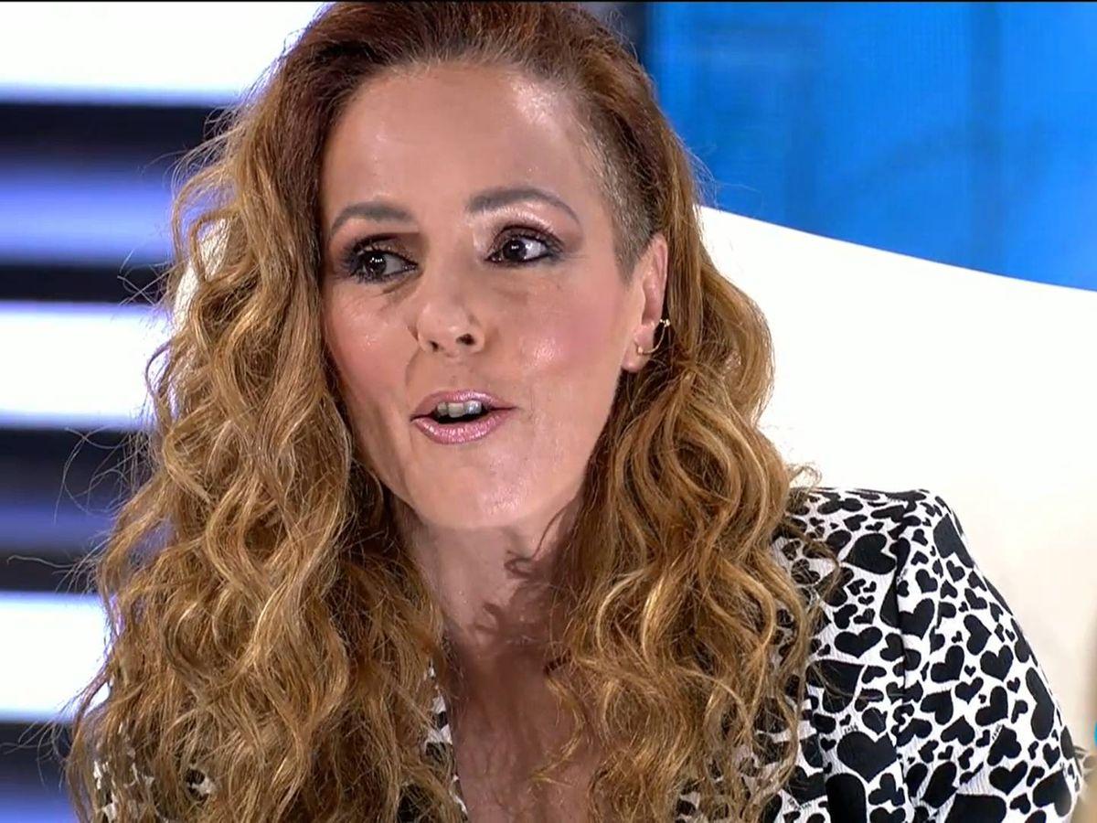 Foto: Rocío Carrasco, en su última entrevista. (Mediaset)