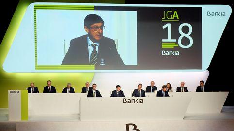Bankia gana 229 millones, un 24,5% menos, y completa la integración con BMN