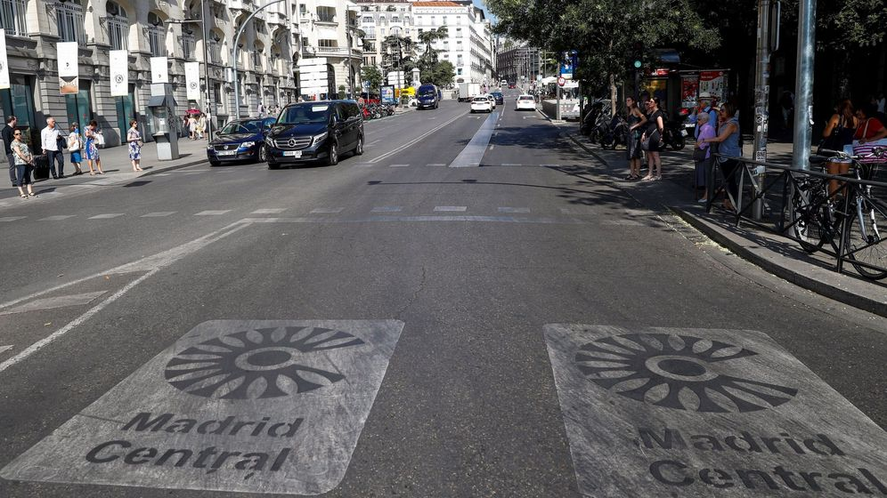 Foto: Madrid Central (EFE)
