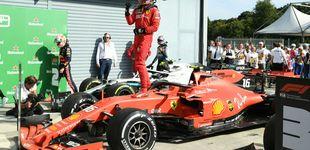 Post de Leclerc desespera a Mercedes con su victoria y McLaren hunde a Carlos Sainz