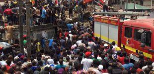 Post de Más de 100 niños atrapados al colapsar un edificio con una escuela en Nigeria