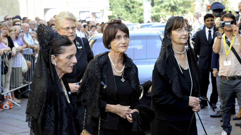Muere la princesa Cecilia de Borbón Parma cinco días después del funeral de su hermana