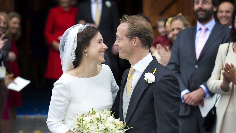 La clásica boda de Jaime de Borbón-Parma, primo de Guillermo de Holanda