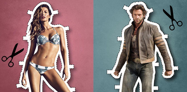 Foto: El hombre perfecto existe y se parece mucho a Hugh Jackman (ella, a Gisele Bündchen)