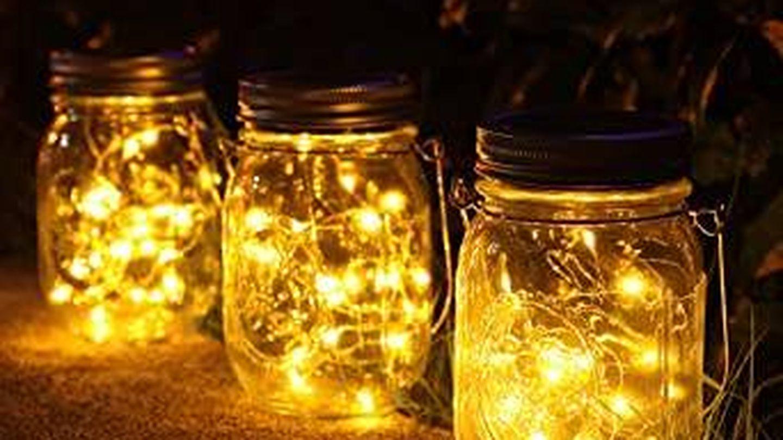 Las lámparas de Newyang. (Cortesía)