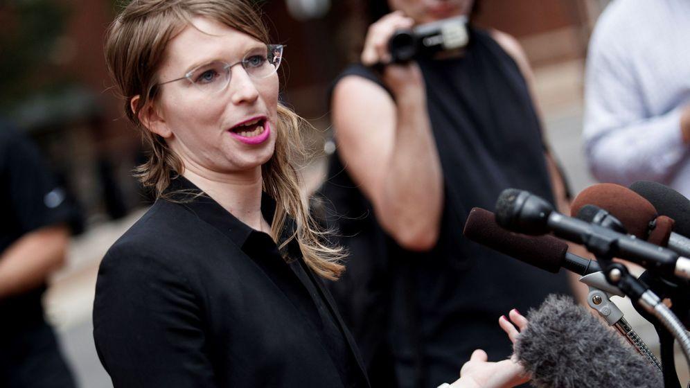 Foto: Chelsea Manning, exanalista de inteligencia del Ejército de EE.UU. que proporcionó documentos secretos a WikiLeaks en 2010 (EFE)