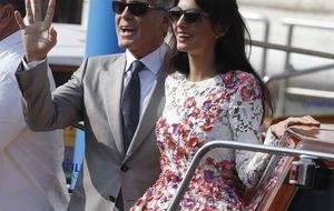 La boda 'gitana' del actor George Clooney en los canales de Venecia