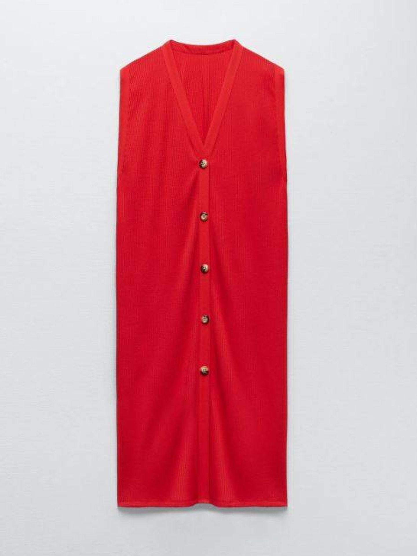 Vestido de Isabel Díaz Ayuso. (Zara)