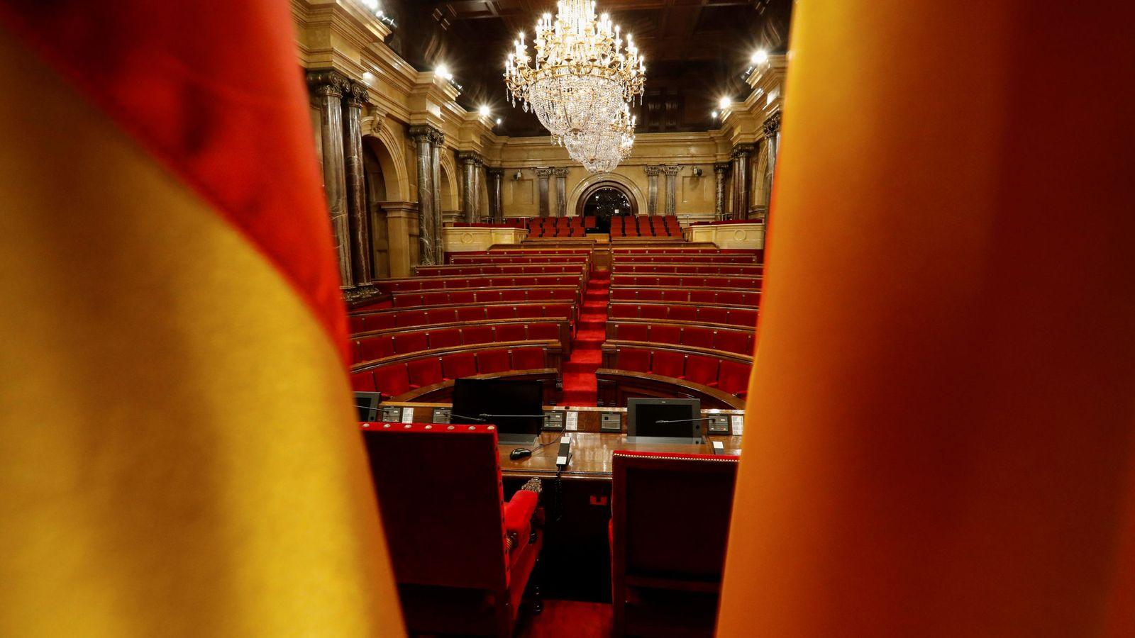 Foto: El Parlament de Cataluña. (Reuters)