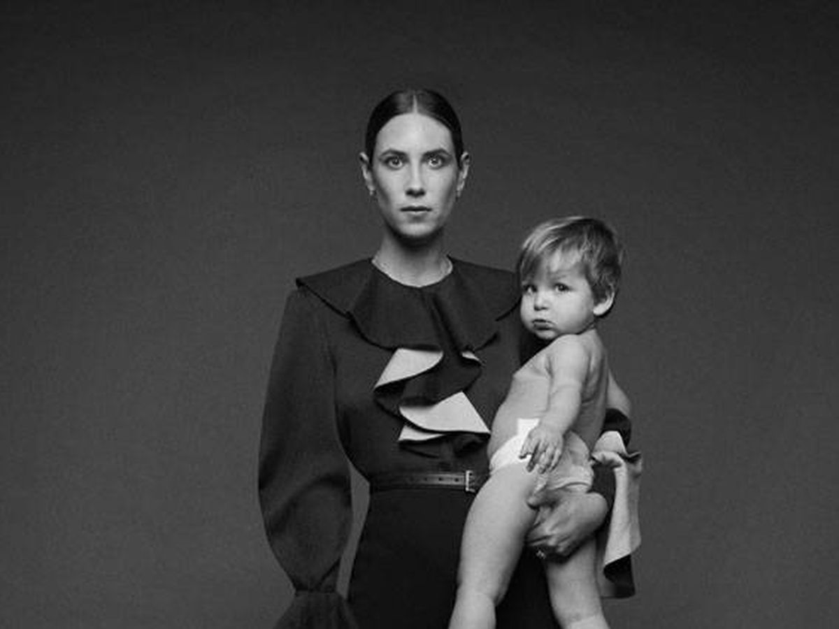 Foto: Tatiana Santo Domingo y su hijo Maximilian. (Emilia Wickstead)