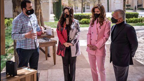 El Pink Team: Rania de Jordania se suma al traje rosa de las royals europeas