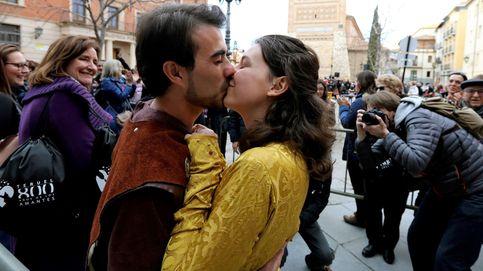 El mejor regalo de San Valentín es un beso... y además es bueno para tu salud