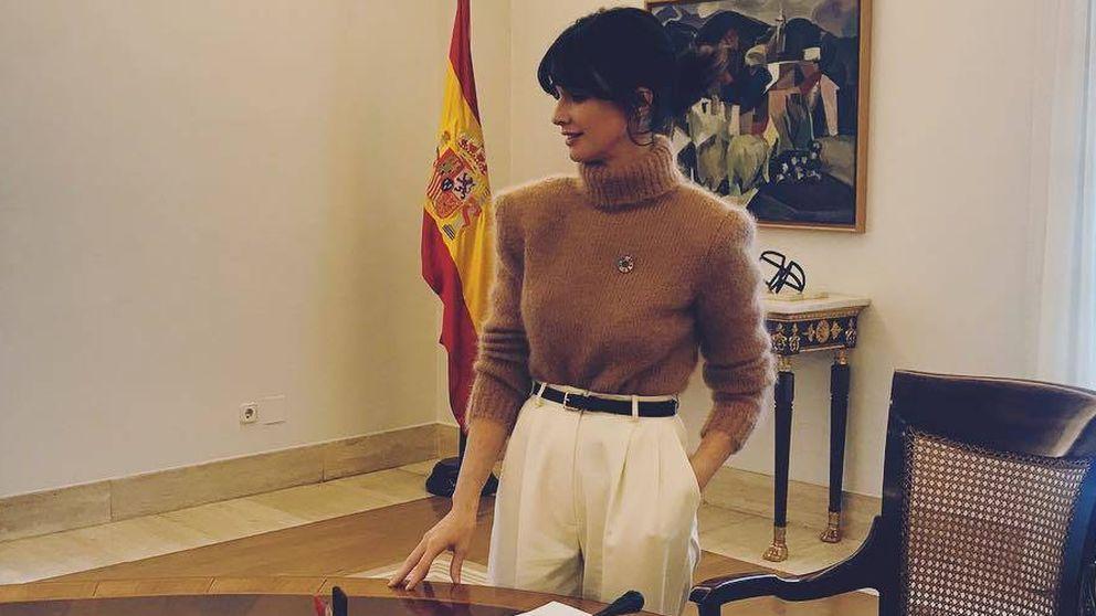 El look con el que Paz Vega se ha estrenado como fichaje de Sánchez en la Moncloa