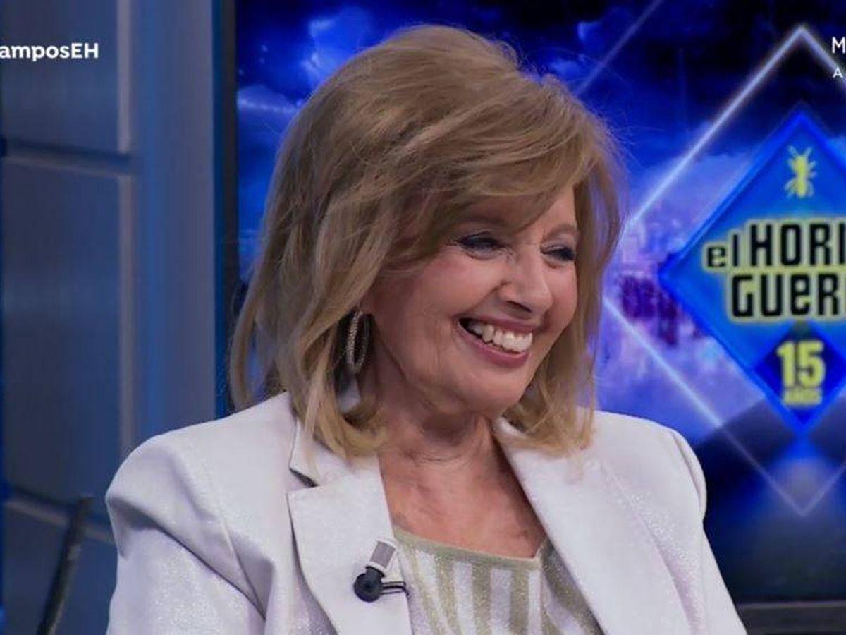 Foto: María Teresa Campos, en 'El hormiguero'. (Atresmedia Televisión)