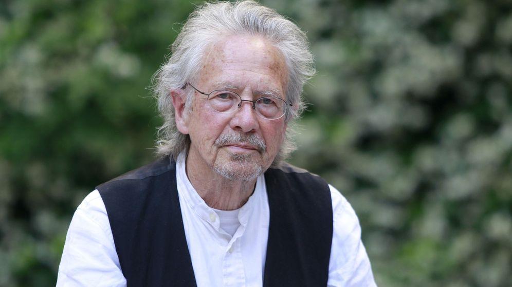 Foto: El escritor austríaco Peter Handke, uno de los ganadores del Premio Nobel de Literatura 2019 (EFE/César Cabrera)