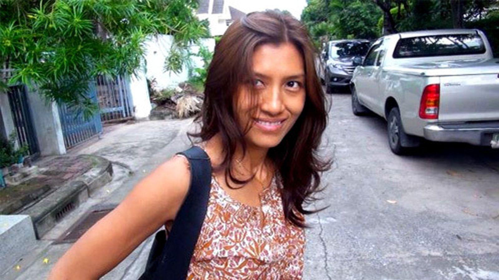 """Foto: Alissa """"Yuyee"""" Intusmith, exmujer del presentador de televisión Francisco Javier Cuesta (Efe)"""