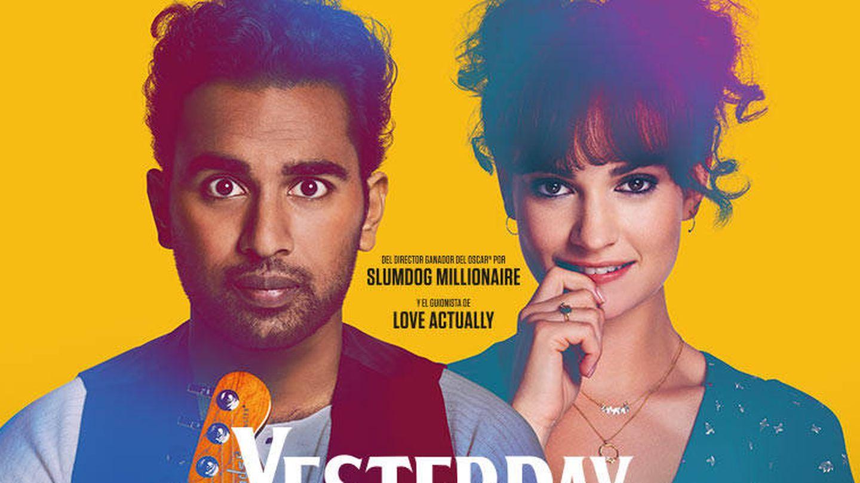 Cartel de la película 'Yesterday'. (Cortesía)
